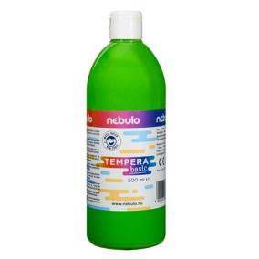 Tempera, 500 ml, NEBULO, világoszöld