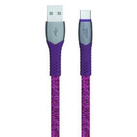 Usb kábel, USB - USB-C, 1,2 m, RIVACASE