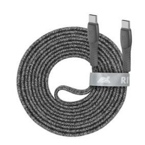 USB kábel, USB-C - USB-C, 2,1 m, RIVACASE