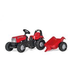 Rolly Kid Case CVX 1170 pedálos traktor utánfutóval