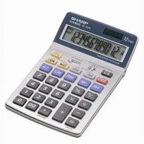 Számológép, asztali, 12 számjegy, SHARP