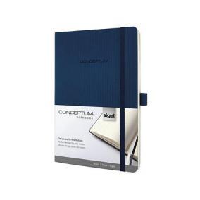 Jegyzetfüzet, exkluzív, A5, vonalas, 194 oldal, puhafedeles, SIGEL