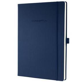 Jegyzetfüzet, exkluzív, A4, kockás, 194 oldal, keményfedeles, SIGEL