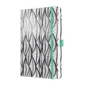 Jegyzetfüzet, exluzív, 135x203 mm, vonalas, 174 oldal, keményfedeles, SIGEL