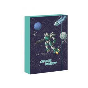 Füzetbox, A4, Space Robot-Jumbo
