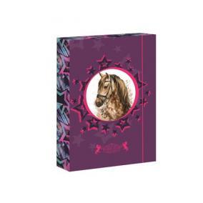Füzetbox, A5, Horse Star-Jumbo