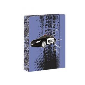 Füzetbox, A5, Police 2-Jumbo