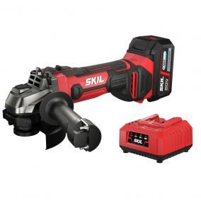 SKIL RED AG1E3920AB akkus sarokcsiszoló 115mm 1x4,0Ah 20 V