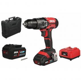 SKIL RED CD1E3020HC akkus ütvefúró 2,5/4,0Ah 20 V+ koffer