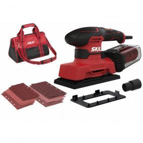 SKIL RED SR1E7362DA rezgőcsiszoló 280W+ hordtáska
