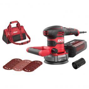 SKIL RED SR1E7480DA excentercsiszoló 125mm 400W + hordtáska