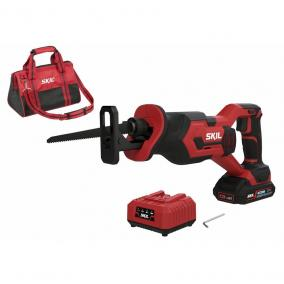 SKIL RED SW1E3470DA akkus szablyafűrész 1x2,5Ah 20 V+ hordtáska