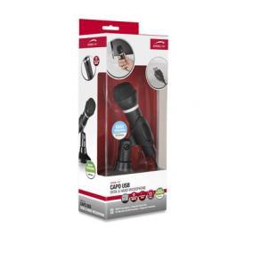 Mikrofon, asztali-kézi, vezetékes, USB, SPEEDLINK