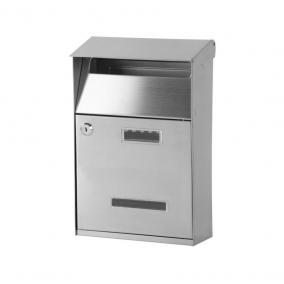 Rozsdamentes acél postafiók 32x21,5x10,5 cm (STR GL-16S)