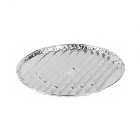 Grill alu kör alakú tál 33x1,5 cm 3db/csomag STR (2212287)