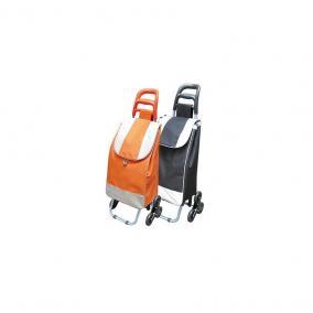 Bevásárlótáska gurulós 35x30x96cm max. 30 kg, 3 kerekű, láthatósági, narancs szín STR