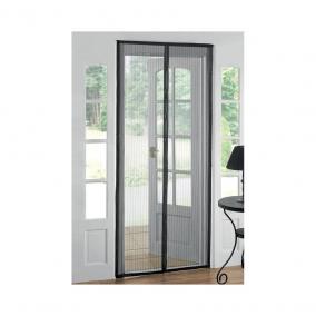 STR mágneses szúnyogháló ajtóra fekete 218x96 cm