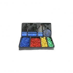 STR fúrószár és tipli készlet 500 részes (420662)