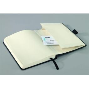 Jegyzetfüzet, exkluzív, A6, sima, 194 oldal, keményfedeles, SIGEL