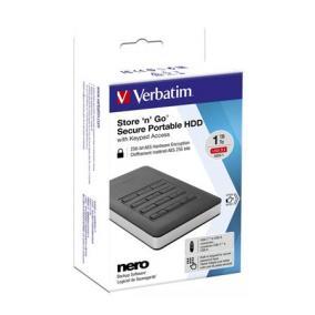 SSD (külső memória), 1TB, USB 3.1, VERBATIM