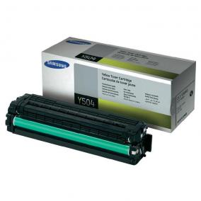 Samsung CLP 415 [Y] toner [1,8K] SU502A CLT-Y504S (eredeti, új)