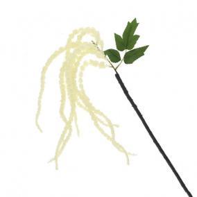 Selyemvirág Amaranthus 90 cm krém