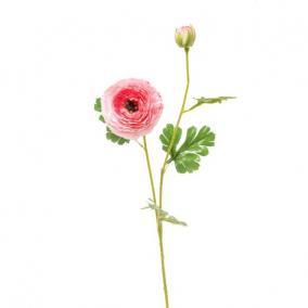 Selyemvirág Boglárka 74cm rózsaszín