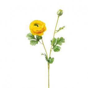 Selyemvirág Boglárka 74cm sárga