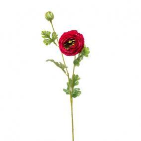 Selyemvirág Boglárka 74cm sötét piros