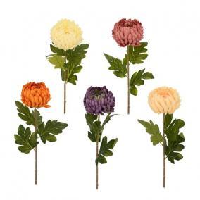Selyemvirág Krizantém 75cm 5 féle
