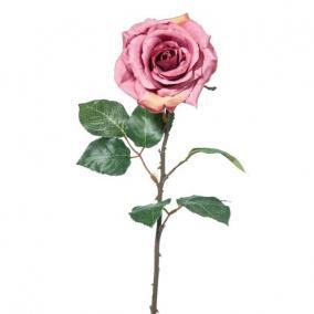 Selyemvirág Rózsa 52cm piros