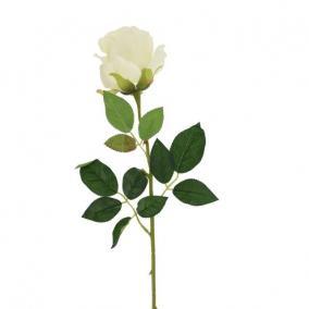 Selyemvirág Rózsa 64 cm fehér