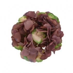 Selyemvirág hortenzia fej 20 cm