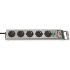 Super-Solid túlfeszültségvédő 5-ös elosztó 2,5m 13,5kA ezüst (1153340315)