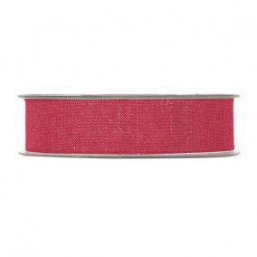 Szalag textil 25mm x 25m piros,arany