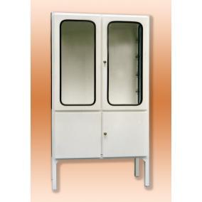 Szekrény fém műszer 2-2 ajtós