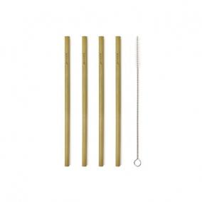 Szívószál bambuszból [8 db]