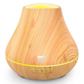 Aroma diffúzor, ultrahangos, LED fénnyel, TAOTRONICS