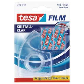 Ragasztószalag adagoló, kézi, TESA + 2 db 15mm x 10 m ragasztószalag [3 db]
