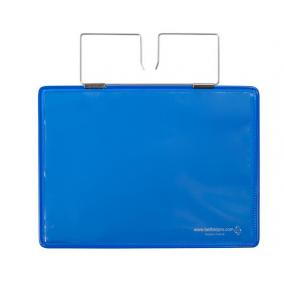 Dokumentumtartó raklaphoz, erősített, A5, fekvő, TARIFOLD, kék [10 db]