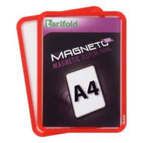 Mágneses tasak, hátán mágneses csíkkal, A4, TARIFOLD