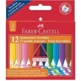 Zsírkréta, háromszögletű, FABER-CASTELL