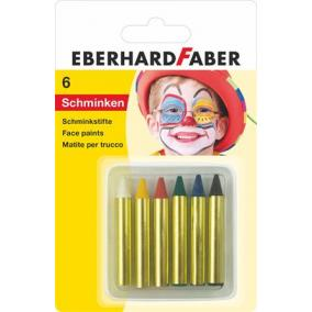 Arcfestő készlet, EBERHARD-CASTELL, mini, 6 különböző szín [6 db]