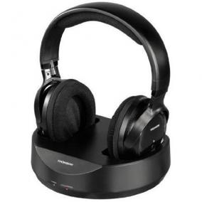 Fejhallgató vezeték nélküli Thomson, fekete - Thomson, 131957 whp3001b