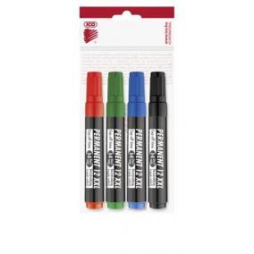 Alkoholos marker készlet, 1-4 mm, vágott, ICO