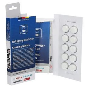 Tisztító tabletta 10db kávéfőzőhöz - Bosch, 311970