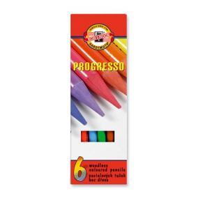 Színes ceruza készlet, henger alakú, famentes, KOH-I-NOOR