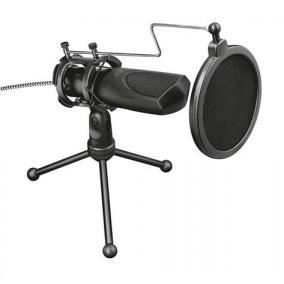 Mikrofon, asztali, USB, TRUST