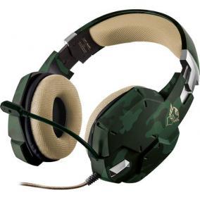 Fejhallgató, mikrofonnal, vezetékes, gaming, 3,5 mm jack, TRUST
