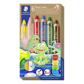 Színes ceruza készlet, 3 in 1, hatszögletű, félhosszú, vastag, STAEDTLER